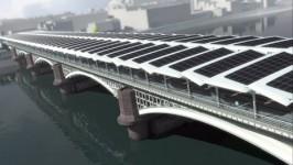 Cây cầu năng lượng mặt trời lớn nhất thế giới