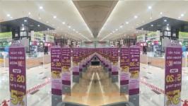 Hệ thống an ninh siêu thị AEON Long Biên sẵn sàng cho khai trương.