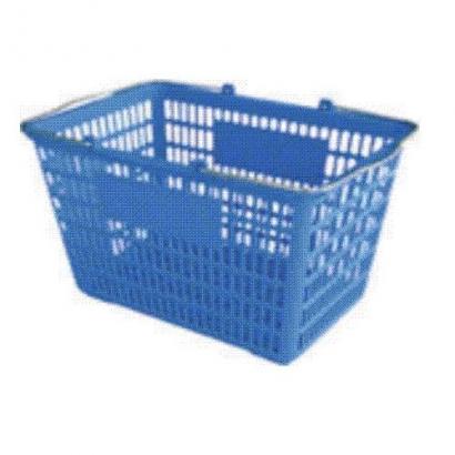 Làn nhựa dày quai INOX, Thiết bị siêu thị